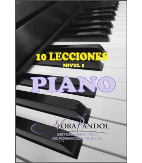 Libro de Piano NIVEL 1 - PAPEL