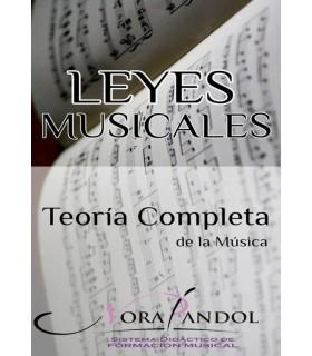 LEYES MUSICALES - Teoría completa de la música - EBOOK
