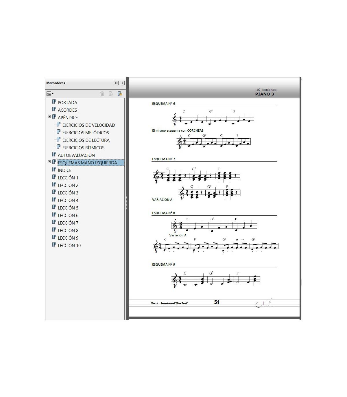 PIANO - Curso Acelerado NIVEL 3 - EBOOK