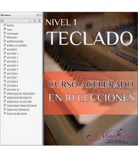 TECLADO - Curso Acelerado NIVEL 1 - EBOOK